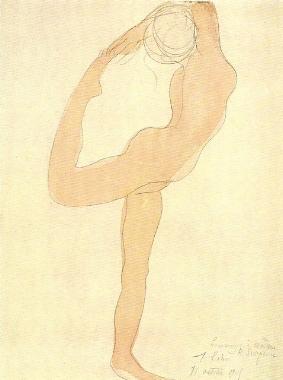 dancing figure. 1905