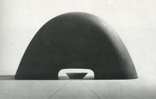 sculpture design for hiroshima peace memorial park. 1952