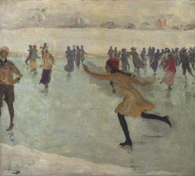 the skater. 1912
