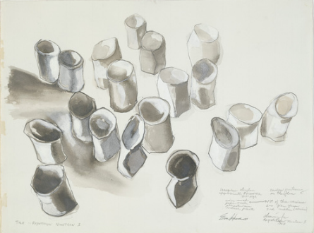 sketch for repetition nineteen iii. 1968