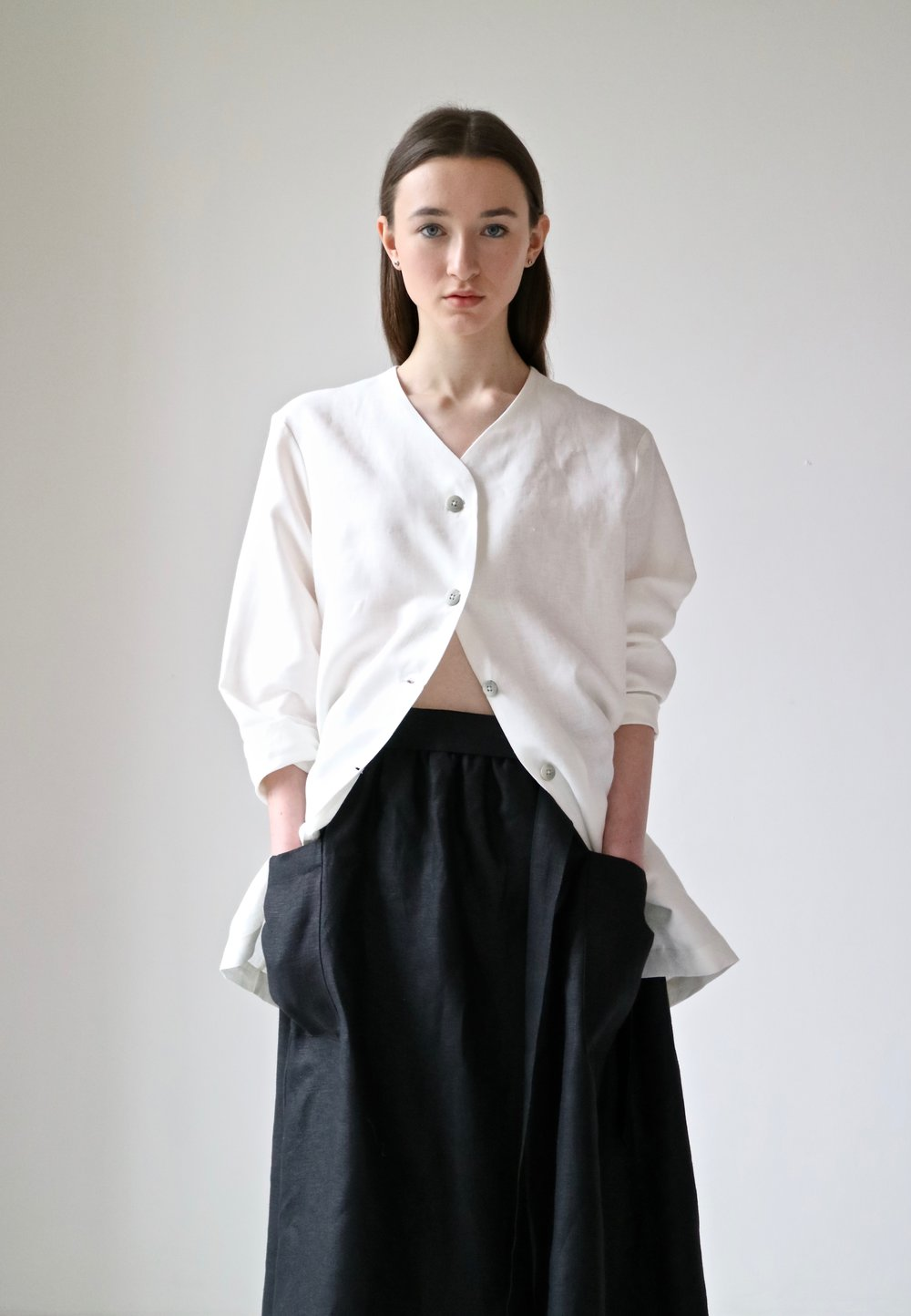 White apron ireland - Irish Linen Clothing Womenswear Menswear And Home Goods 31 Chapel Lane