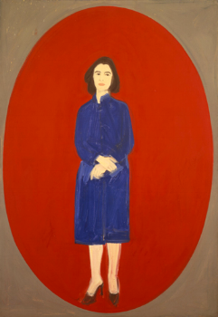 ada (oval). oil on linen. 1959