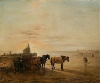 seaweed gathering. 1836