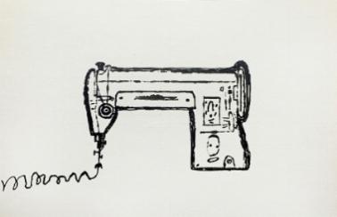sewing machine. 1952