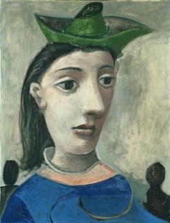 la femme au chapeau vert. 1939