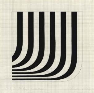 study '66 r + angle curve no 1. 1966