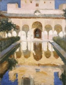 Alhambra Salón de Embajadores.1909