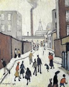 A Street Scene Near a Factory. 1961