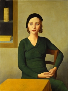 Woman at the cafe. 1932