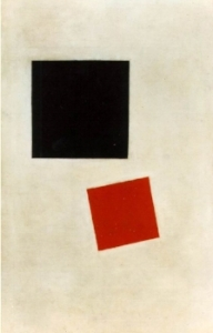 Black Square and Red Square. 1915