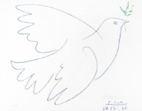 La colombe bleue. 1961