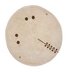 Tapis circulaire. 1930