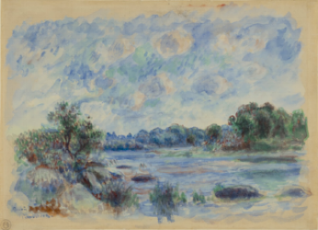Landscape at Pont-Aven. 1892