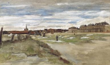Bleaching Ground at Scheveningen. 1882
