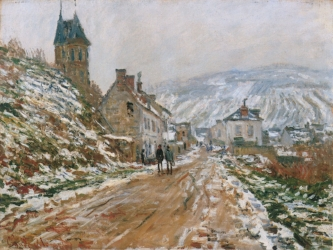 The Road in Vetheuil in Winter. 1879