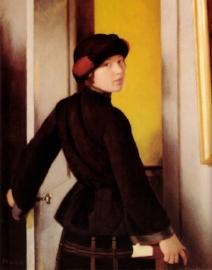 Leaving the Studio. 1912