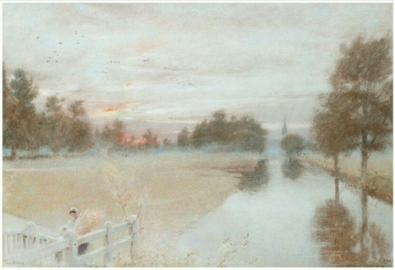 The Avon, Salisbury. September, 1903