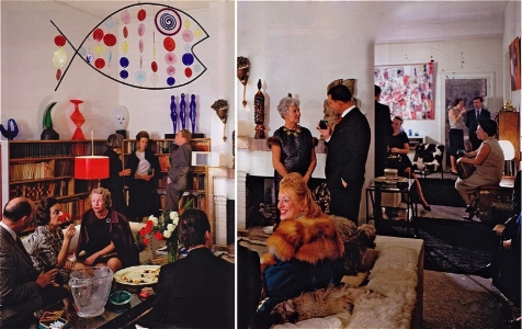 At Peggy Guggenheim's, Venice, early 1960s
