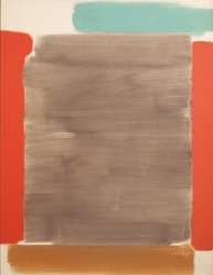 Vertical Red and Gray. 1963
