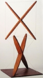 Early X-Piece sculpture. 1948