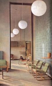 Interior and furniture, 1942