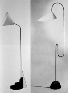 Lamp designs c1930s
