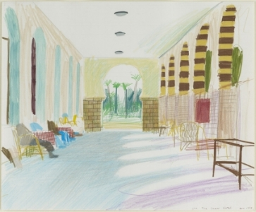 Early Drawings, Hotel Luxor. 1978