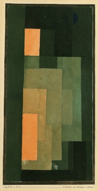 Tower in Orange and Green. 1922