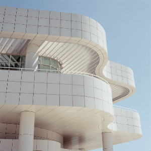 Getty Center, LA, California, opened 1997.