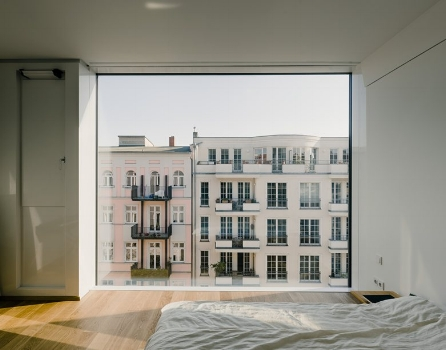 Christburger Strasse Apartment, Berlin. By Zanderroth Architects. Completed 2013