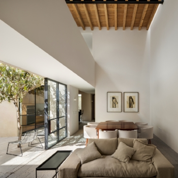 La Quinta weekend house. By PPAA and A Rojas. Completed 2015
