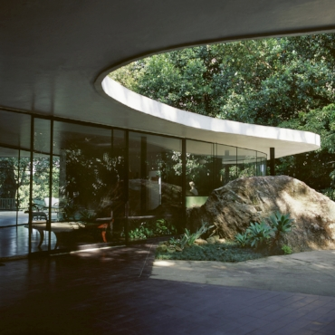 Das Canoas House, Brazil. Completed 1951