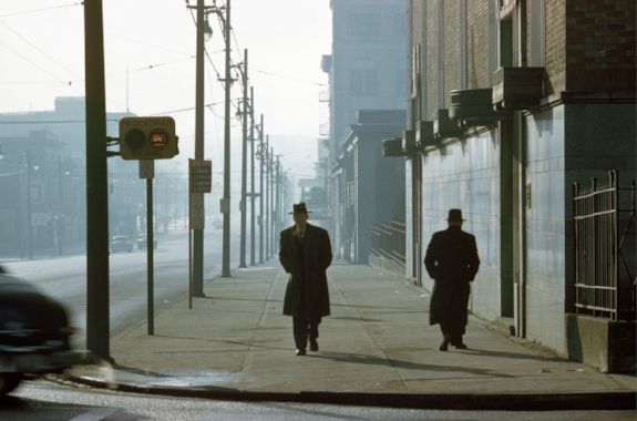 Two Men in Fog. 1958