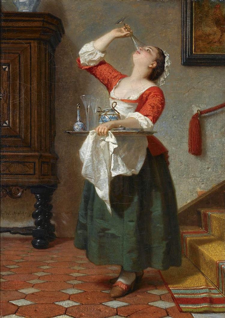 The Maid, 1862