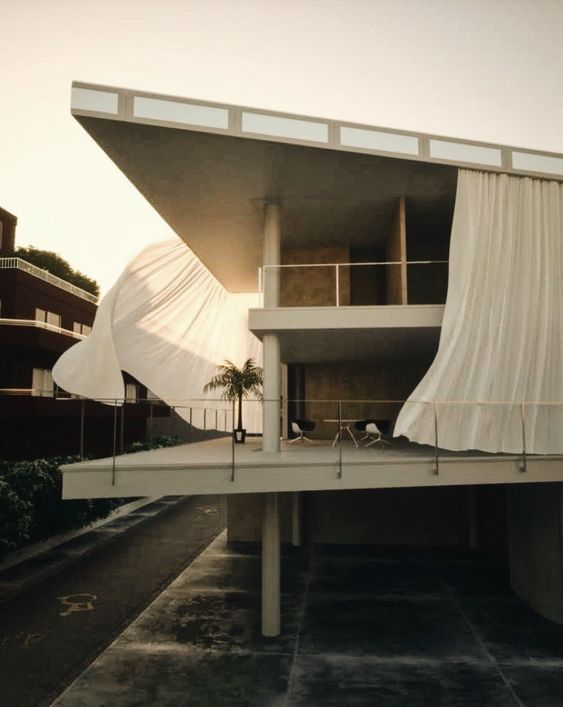 The Curtain Wall House, Tokyo, completed 1995