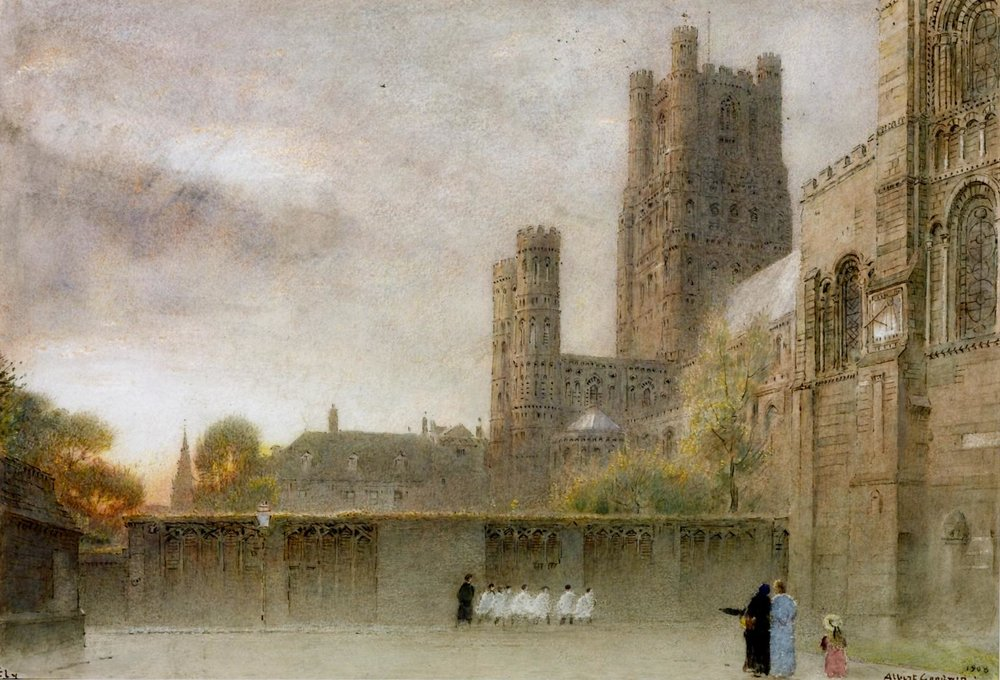 Ely Cathedral, 1908