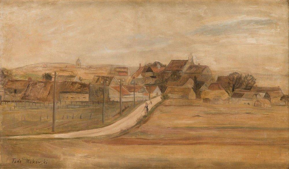 Village de Chanu, 1926