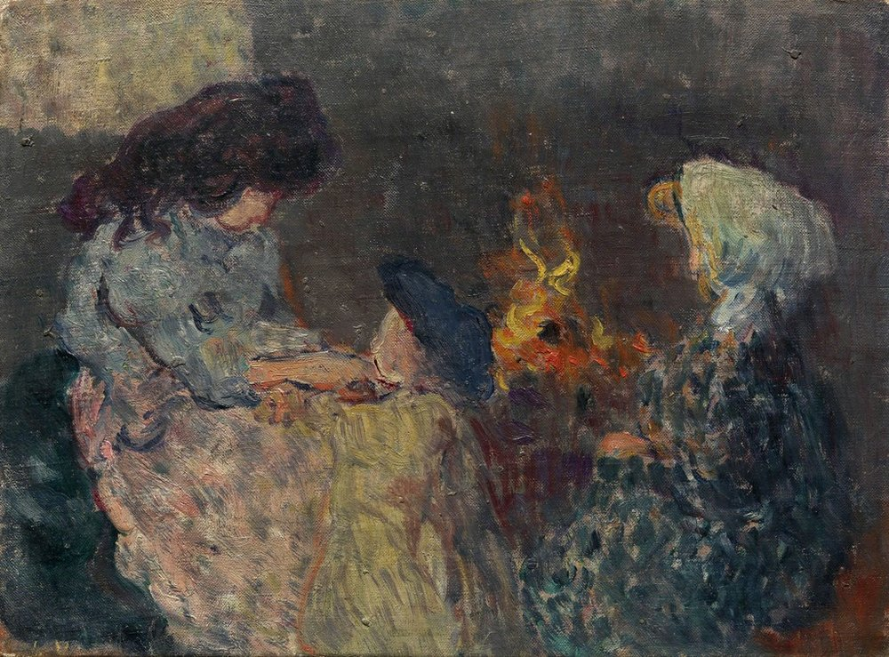 Les enfants bompart. 1899