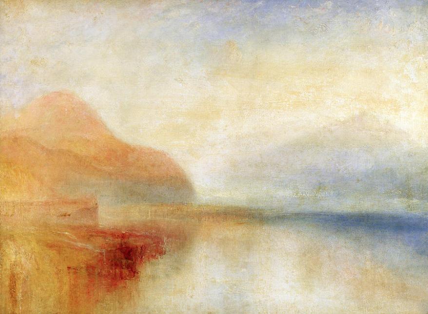 Inverary Pier, Loch Fyne Morning, 1845,, by Joseph Mallord William Turner
