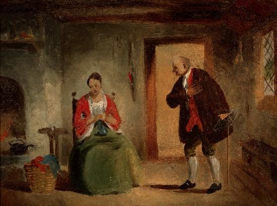 Interior Study, 1835-1863