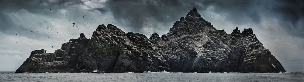 Little Skellig, off the coast of Co. Kerry on the west coast of Ireland.