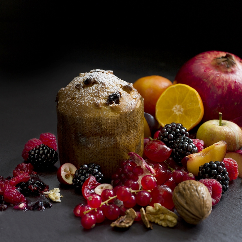 Panettone and Christmas Fruit