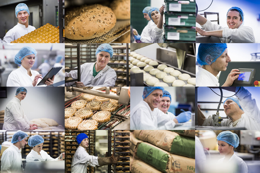 Spent some time in Coghlan's Artisan Bakery in Newbridge, Co. Kildare, capturing the whole process of baking bread and pastries. The bakers and staff were fantastic. The process fascinating.