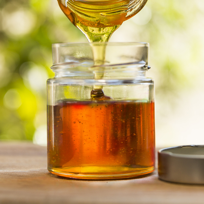 Store the syrup in sterilised air tight storage jars. Use instead of honey. For pancakes its a dream.