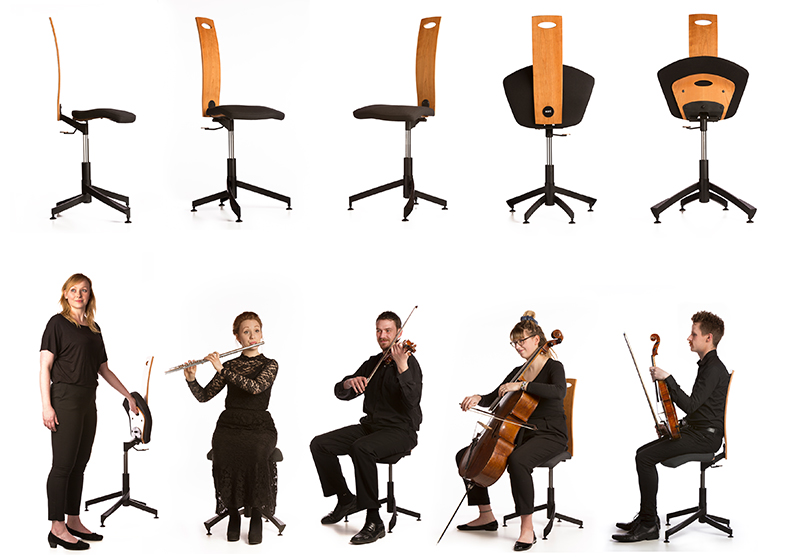 Earo Chair Product and People Photography