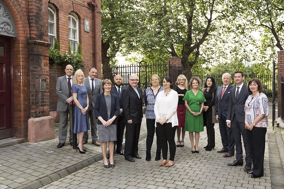 The Iveagh Management Team & Staff.