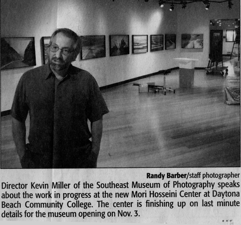 Director (2001 - 2014) Kevin Miller, article from the Daytona News Journal 2007