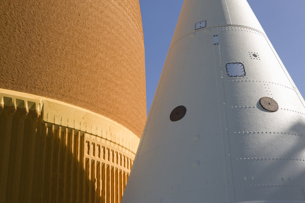 Roland Miller  External Tank and SRB Frustum Detail, STS-125 Atlantis, 2008