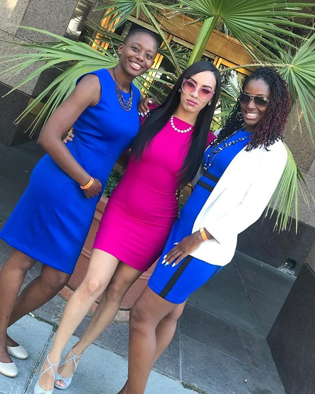 Boss babes! Enough said.  #lovetheseladies #Queens #readytorule #matrixpower #wecomingtoyourcity #womensempowerment