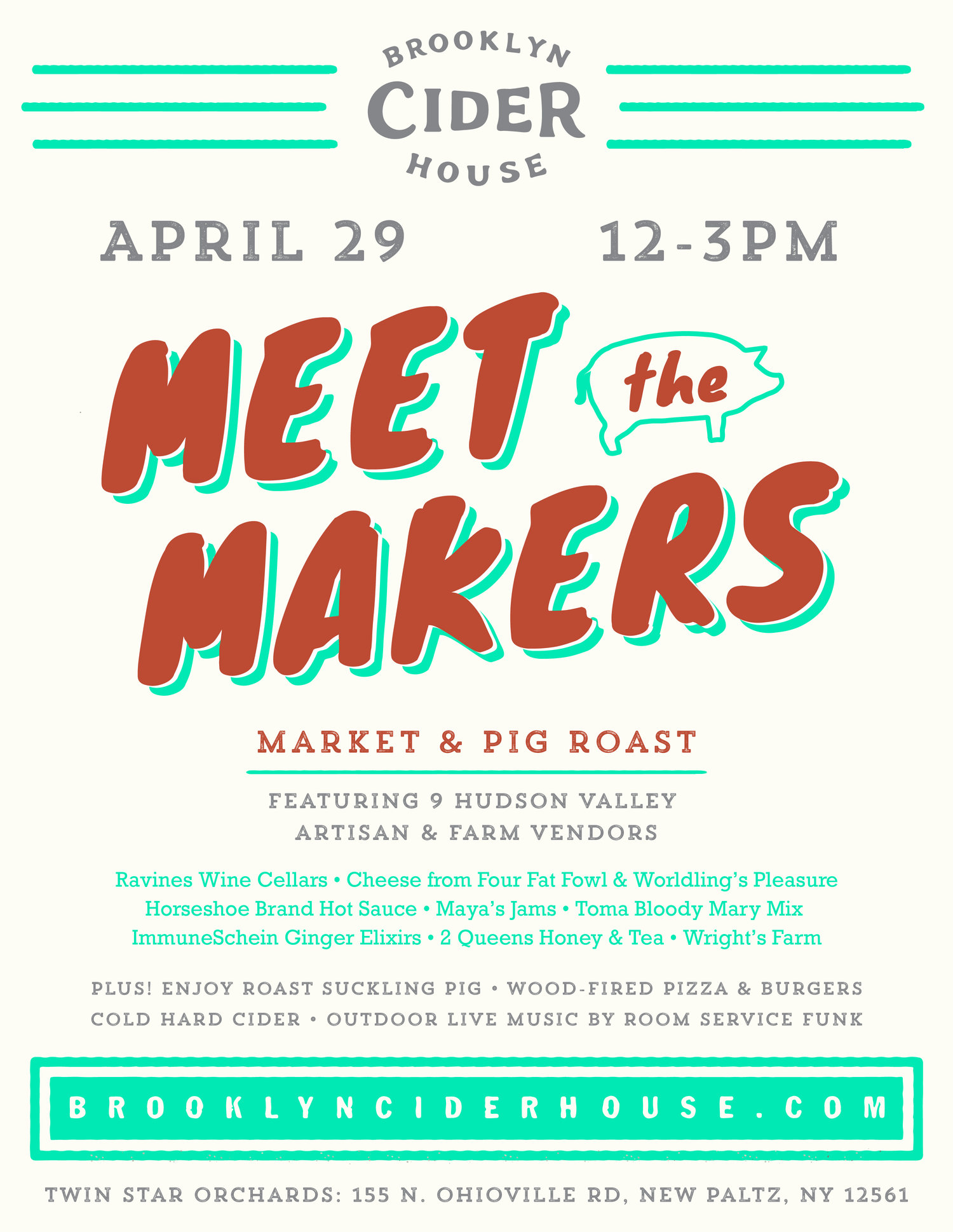 Meet the Makers – Market and Pig Roast — Brooklyn Cider House